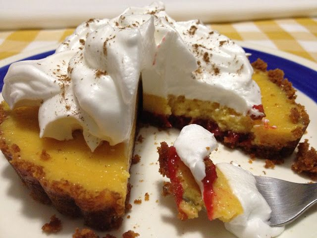 Passion fruit and guava pie | Food to cure The Blues | Pinterest
