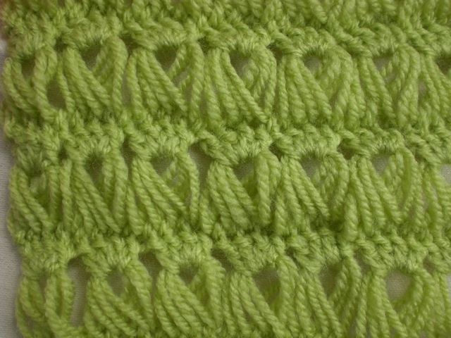 Broom Stick Crochet Pattern
