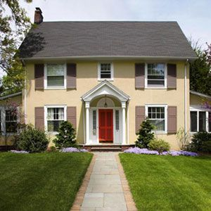 Fast fixes for your front yard for Easy landscaping ideas for front of house