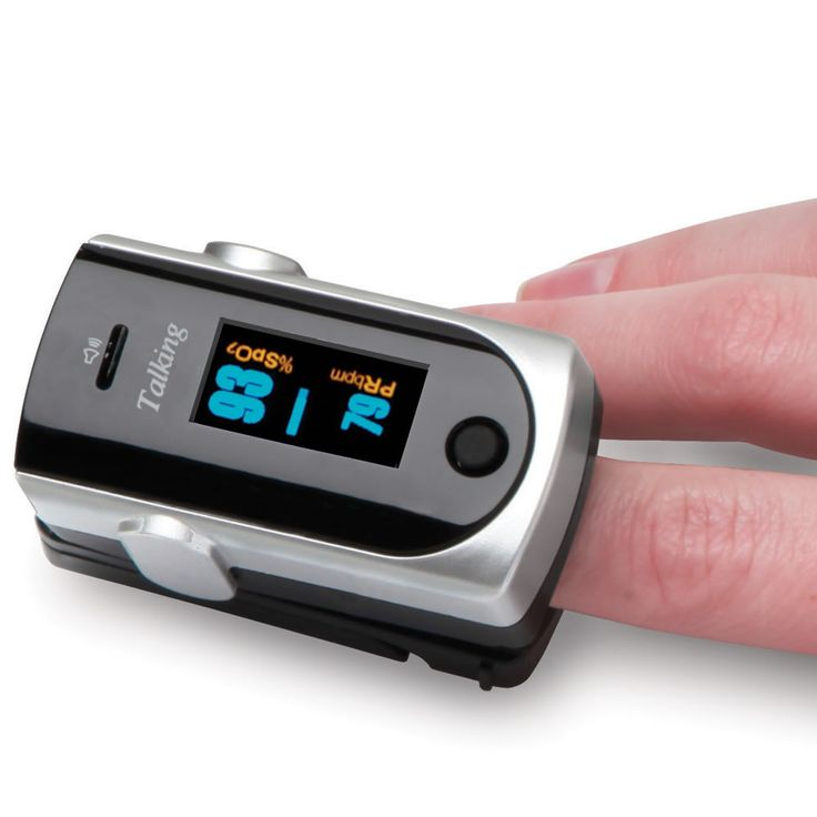 The Best Fingertip Heart Rate Monitor - the easiest to use and the most comfortable in tests conducted by The Hammacher Schlemmer Institute.