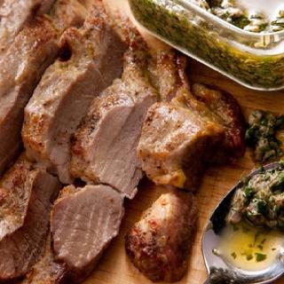 Pork Tenderloin with Salsa Verde | Recipe