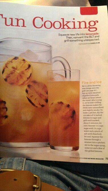 Grilled Lemonade | Foodie | Pinterest