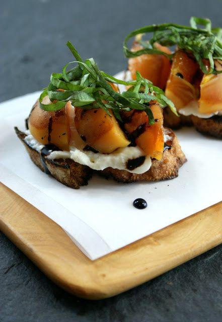 ... Suburban Gourmet: Grilled Apricot Crostini | Friday Night Bites