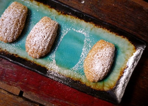 Honey-Spiced Madeleines. Gluten free and dairy free!