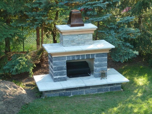 Outdoor Fireplace Plans Outdoor Spaces Pinterest
