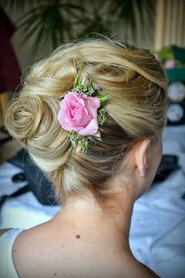 Wedding Hair styling by Fordham Hair Design Gloucestershire ... Zoe's ...