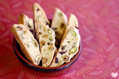 Cranberry Pistachio Biscotti | Dessert | Pinterest