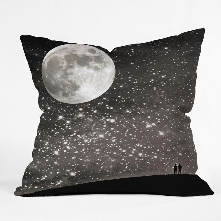 Shannon Clark Love Under The Stars Throw Pillow