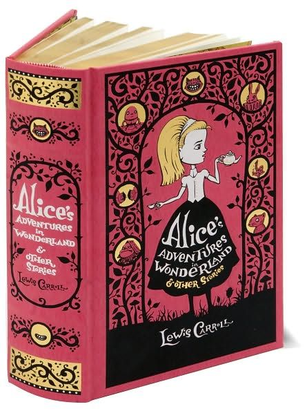 Book cover for Alice in Wonderland from the wonderful Hugh d'Andrade.
