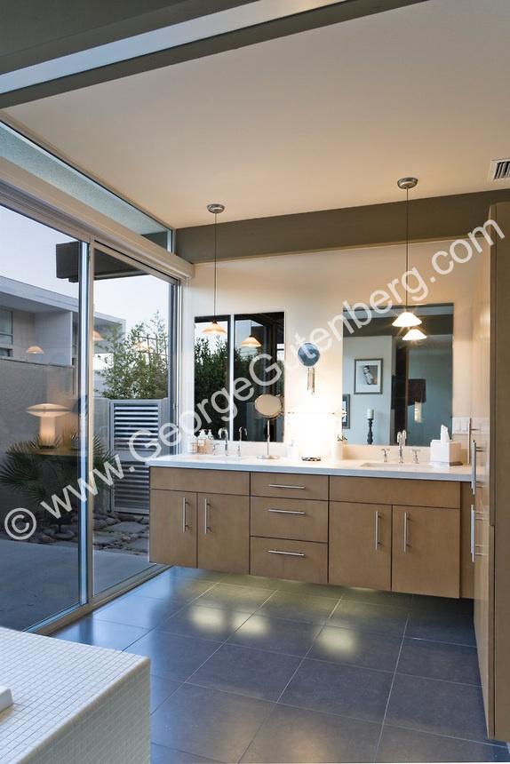Bathroom Mid Century Modern Cabinet Ideas Master Bath Pinterest