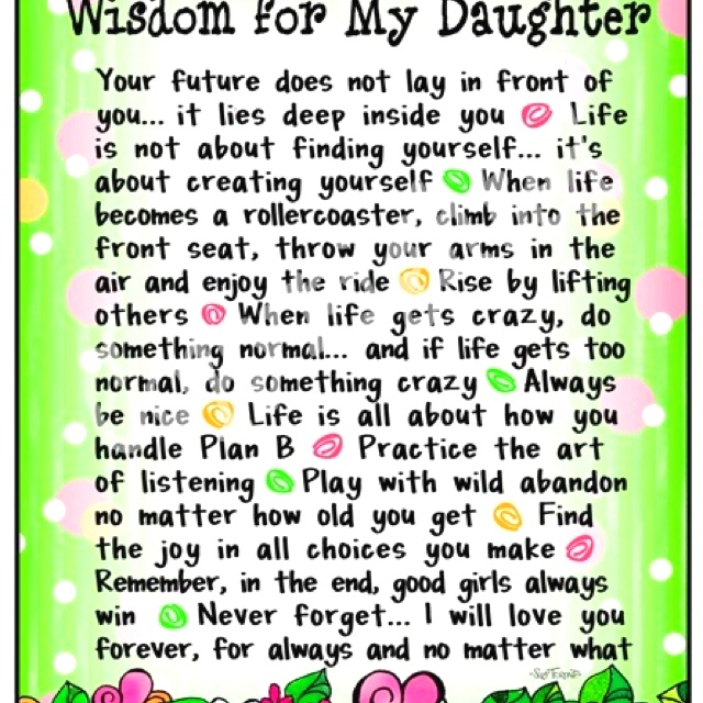 graduation quotes for daughters from parents quotesgram
