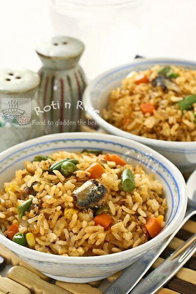 Sardines Fried Rice #Food #Recipe #Yummy #Meals #Dinner #Chef #Cook #Bake #Culinary