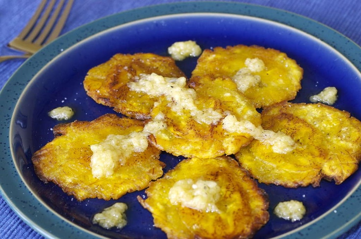 Tostones (Fried Green Plantains) | My Cuban Kitchen | Pinterest