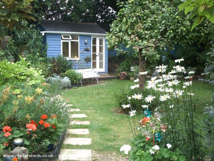 Domi 39 S Shed Garden Office Pinterest