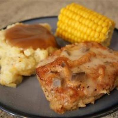 Baked Pork Chops I food