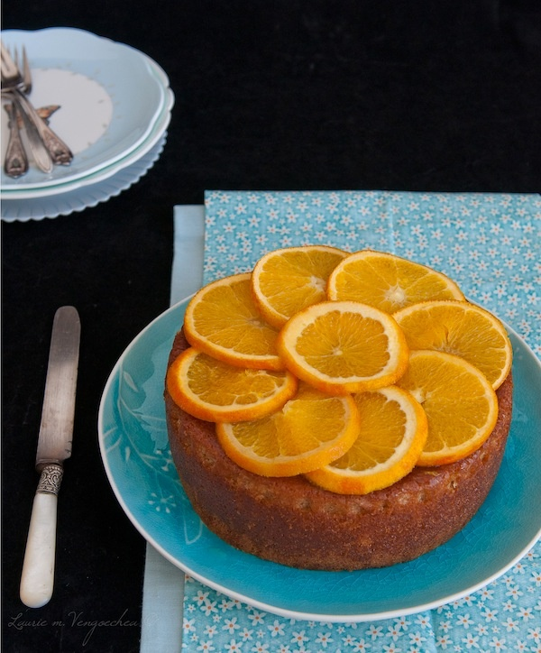 Orange Scented Olive Oil Cake | Cakes | Pinterest