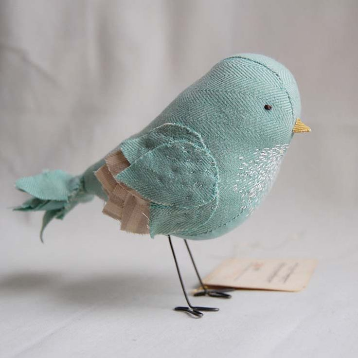 """""""Mabel"""" by Ashley Anna Brown at Secret Holiday.  #birds #embroidery"""