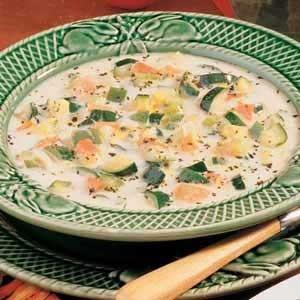 Tomato Zucchini Soup | Recipe