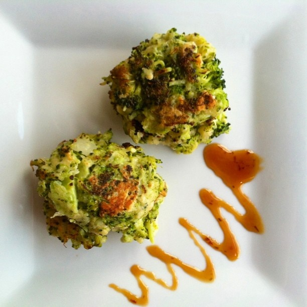 ... Leftover Edition ~ Steamed Broccoli turned Broccoli Parmesan Fritters