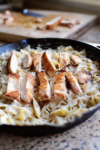 Bowtie Chicken Alfredo | Recipe