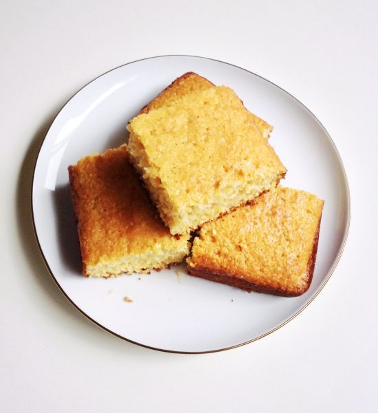 Southern-Style Sweet Corn Bread Recipe   It's What for Dinner   Pinte ...