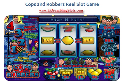 online slot machine game cops and robbers slots