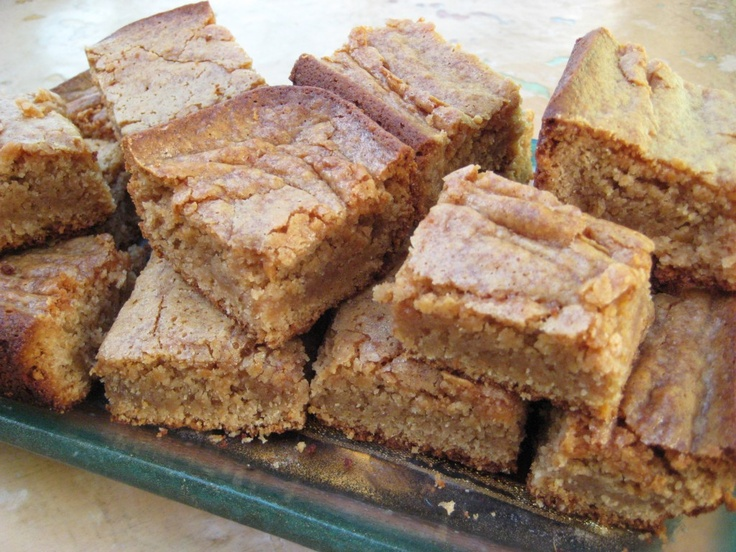 Butterscotch Blondie Bars With Peanut-Pretzel Caramel Recipes ...