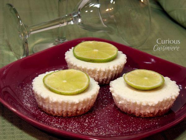 Frozen Margarita Cheesecake Bites - Curious Cuisiniere