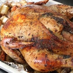 roasted herb chicken amp potatoes used bone in chicken breast no ...