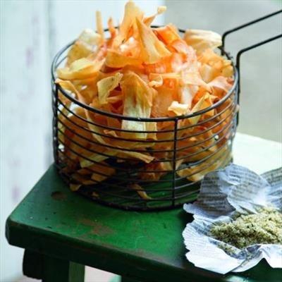 Parsnip Chippies   Foodie   Pinterest