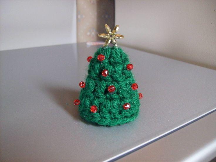 Free Crochet Christmas Tree Hat : Pin by Claudia Murru on natale a crochet Pinterest