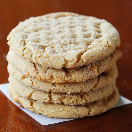 Peanut Butter Cookies with Homemade Honey Roasted Peanut Butter