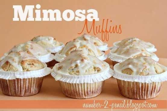 Mimosa muffins | Creative Food Ideas | Pinterest