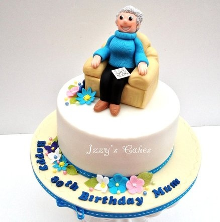 Cake Design For Grandma : Pin by Cheryl Cottle on Cakes for Her Pinterest