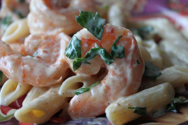 shrimp & pasta with creole cream sauce. | La Pasta | Pinterest