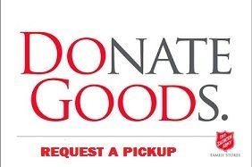 salvation army donation pick up service