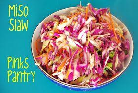Pinks Pantry: Miso Slaw | salads | Pinterest