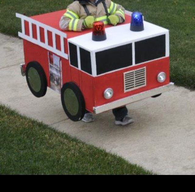 Halloween Fire Truck Fire Truck Halloween Costume