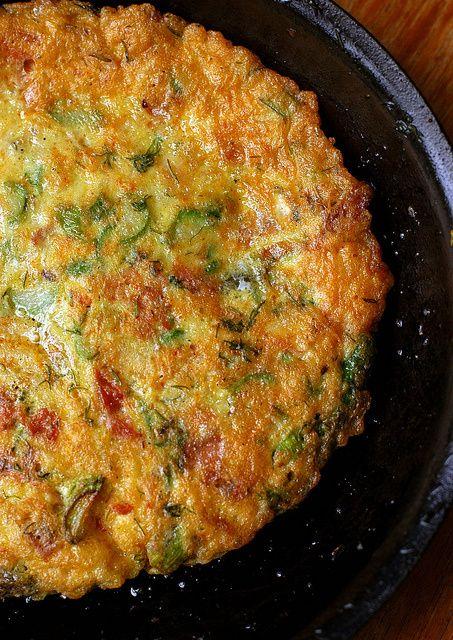 Prosciutto-Asparagus Tortilla | Mangia e Bevi | Pinterest