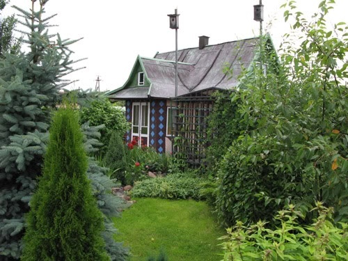 Dacha Russian Summer Cottage Garden Cottage Garden