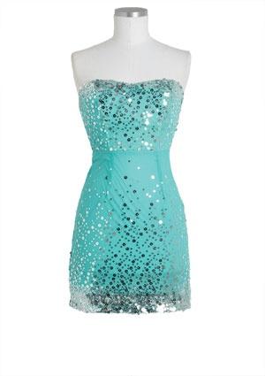 dELiAs > Circle Sequins Mesh Dress