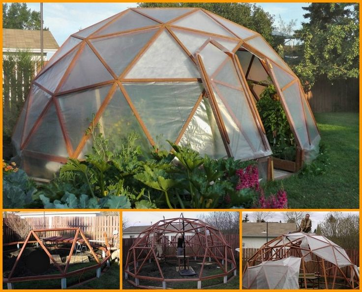 diy dome greenhouse garden ideas pinterest