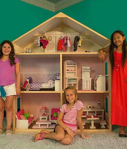 American Girl Doll House as well American Girl Doll House furthermore ...