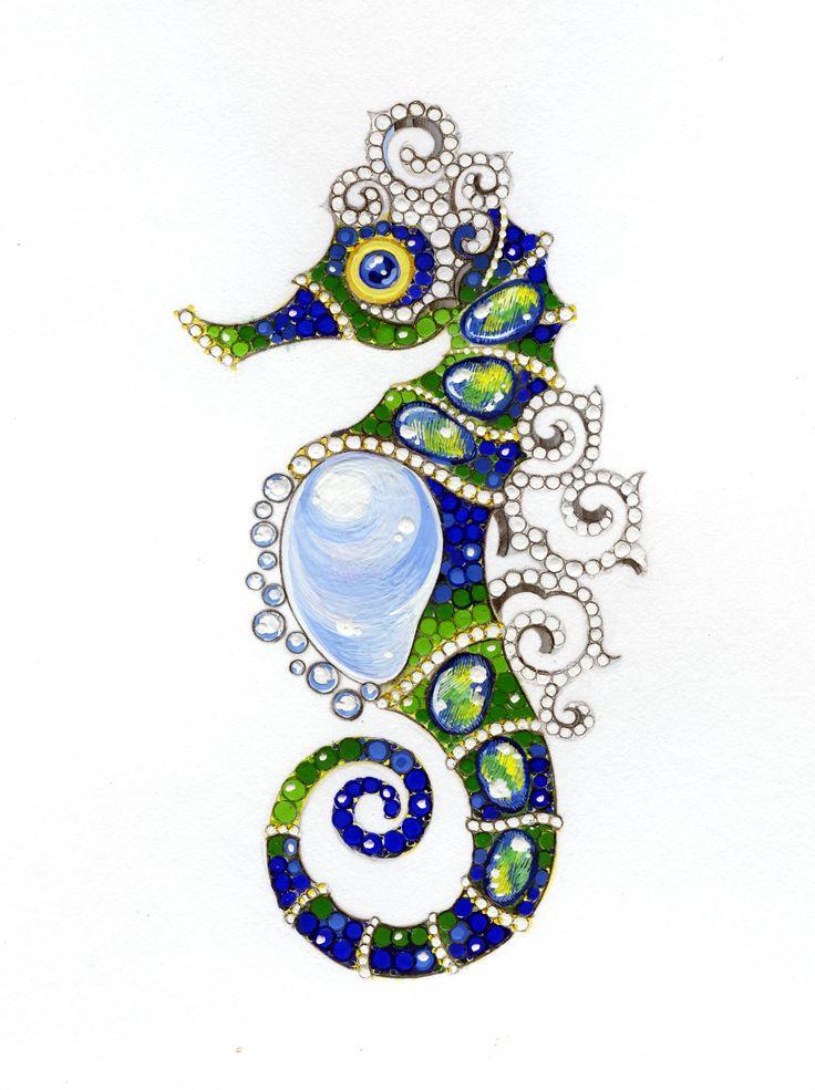 主题: 吸引人的珠宝手绘图稿