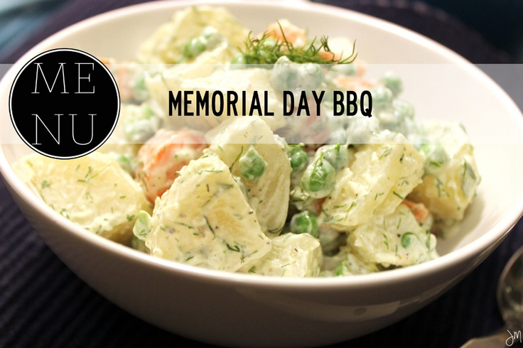memorial day bbq menu recipes