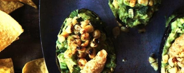 Smoky Goat Cheese Guacamole | Oh, how I love to Cook! | Pinterest