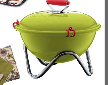 portable grill...perfect for a picnic