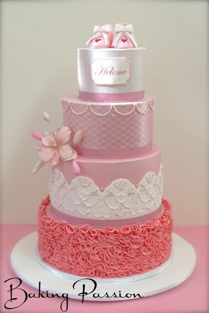 Beautiful Cake Images For Baby Girl : Baby Cake Welcome little one, baby shower cakes Pinterest