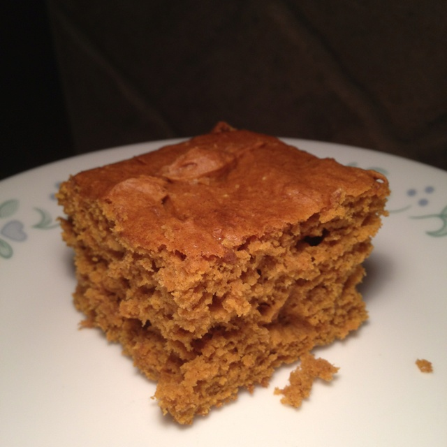 Pumpkin Spice cake: two ingredients! One can of pumpkin. One spice ...