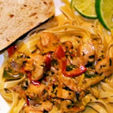 Chicken Tequila Fettuccini. This looks just like the Tequila Lime ...